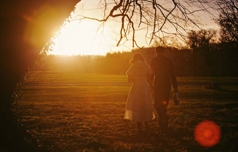 James + Jessica | Rathsallagh House in some beautiful winter sun