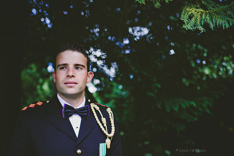Groom in Uniform
