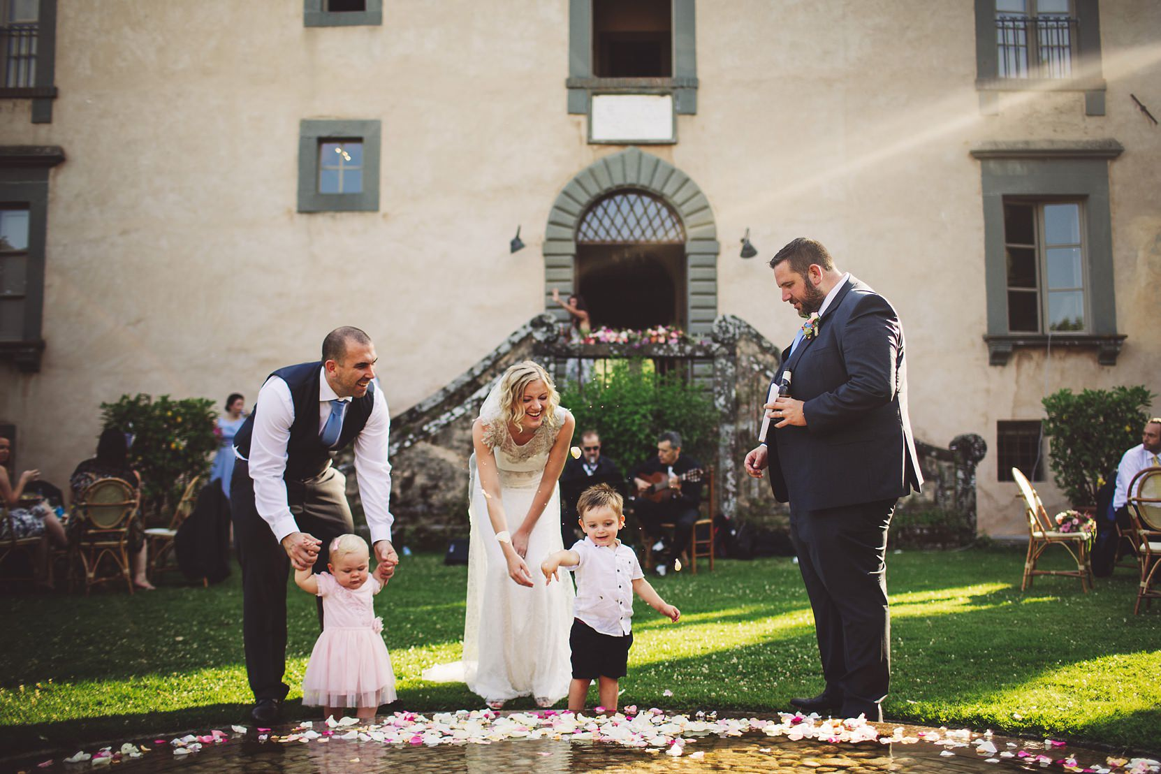 Wedding in Lucca, Tuscany