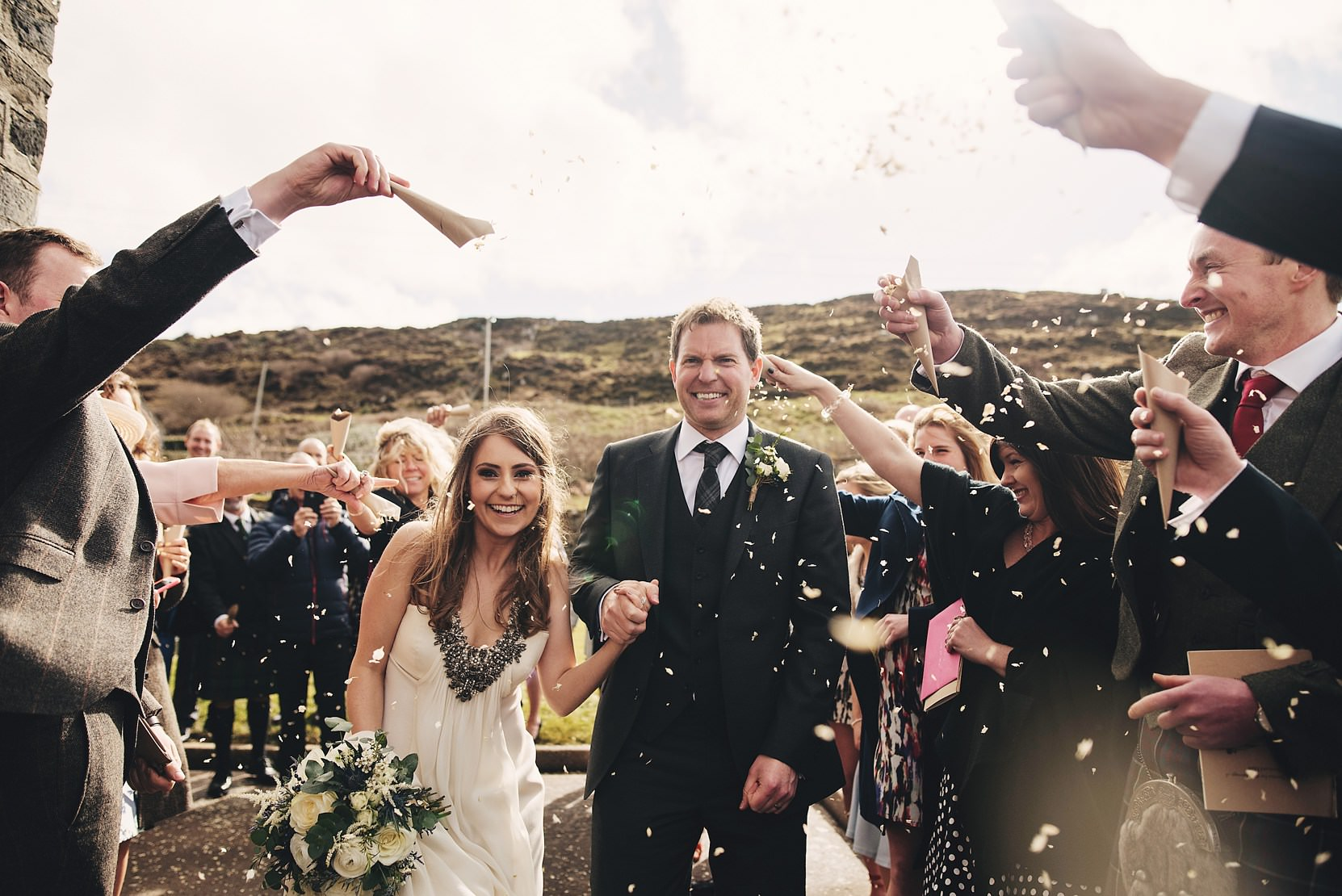 Portnoo Wedding Confetti Shot