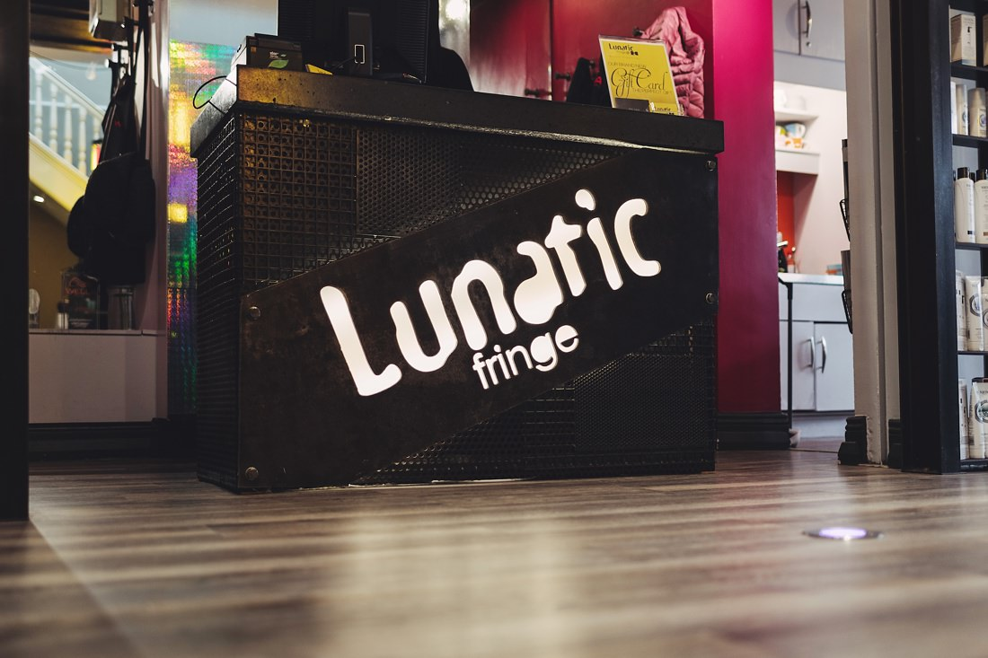 Lunatic Fringe hair salon in Dublin City