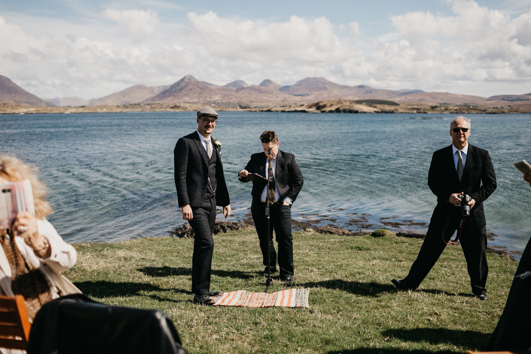 American Irish wedding in Connemara