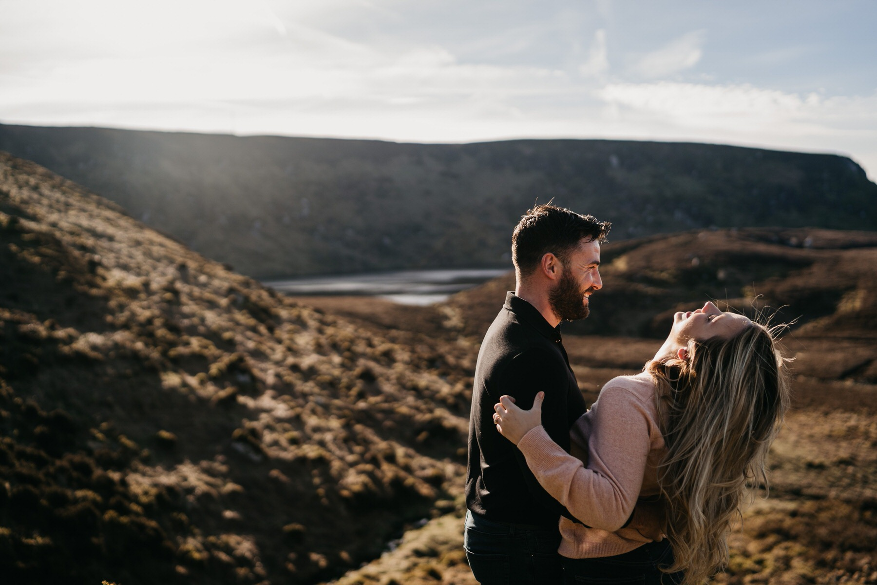 engagement shoot in wicklow
